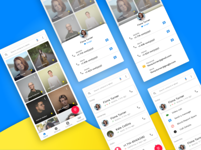 Contacts App | Redesign