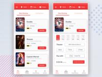 Movie App: Home Screen Exploration