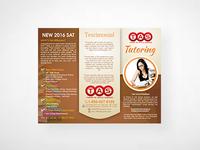 study center brochure design and created by Go-Designy