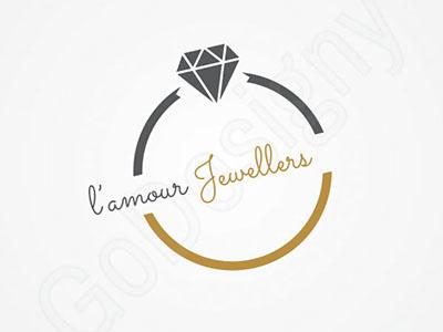 jewellery logo design by go-designy