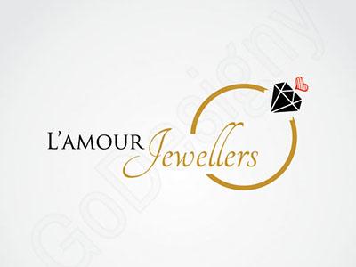 stylish jewellery logo design by go-designy