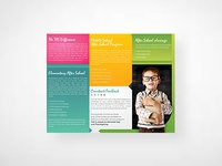 study flyer design tutor center brochures by go-designy