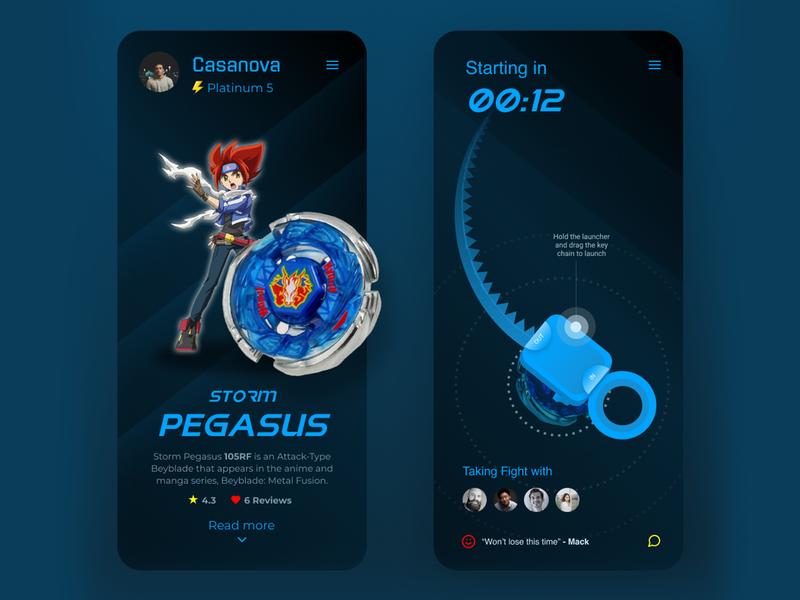 Gaming app concept identity branding ux ui vector branding design illustration design adobe shots minimal