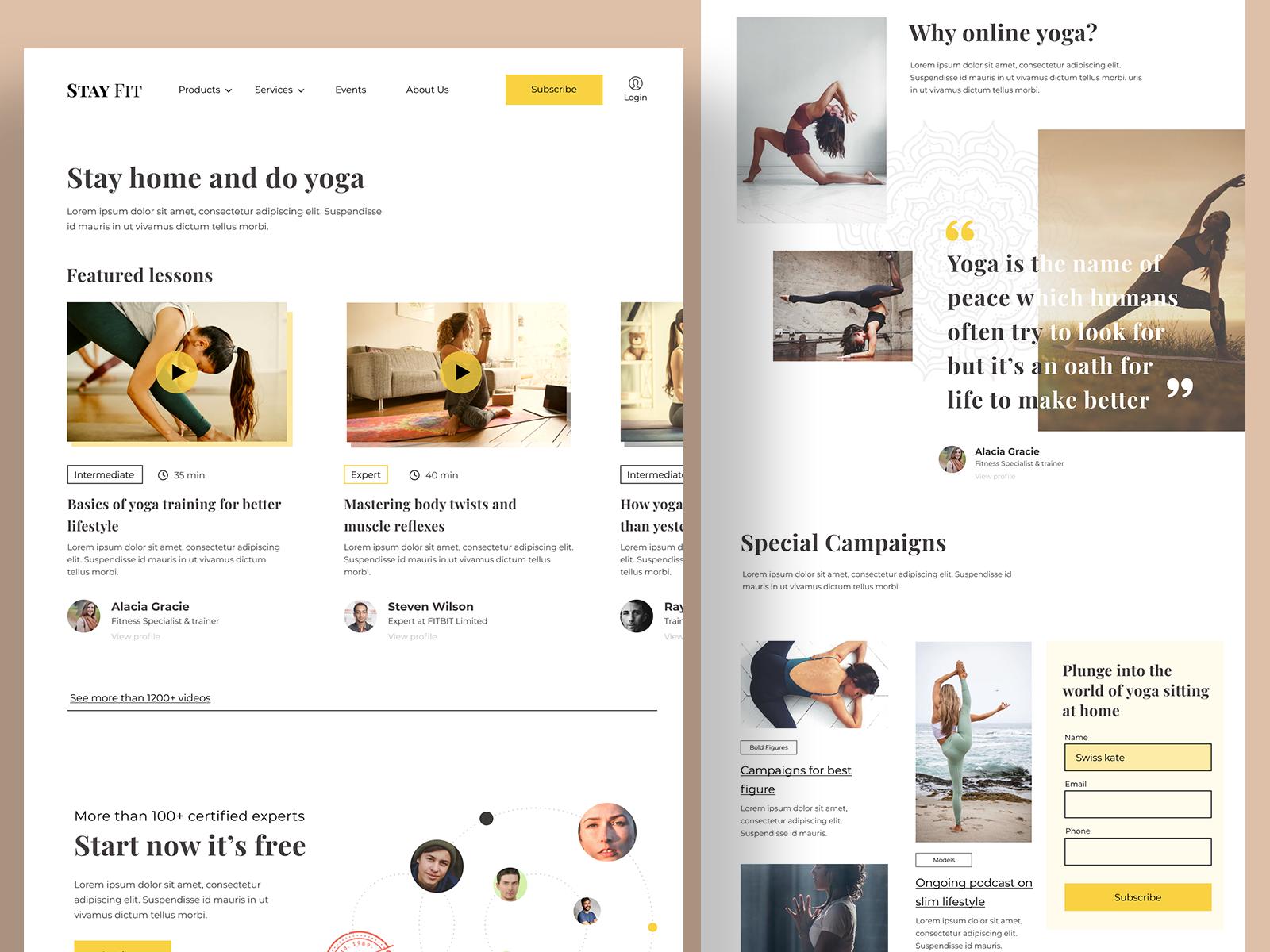 Online Tutorial Website Concept Conversion Webpage By Joydeep Chatterjee On Dribbble