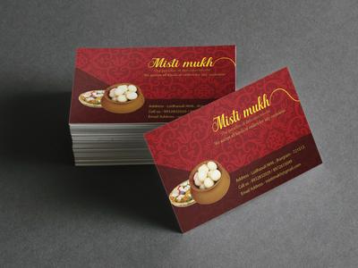Mistimukh Business Card design