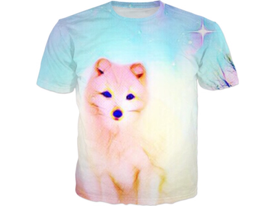 Fox in Winter All Over Print T-shirt