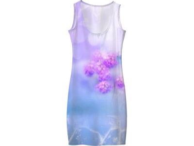 Flowers in the clouds Dress