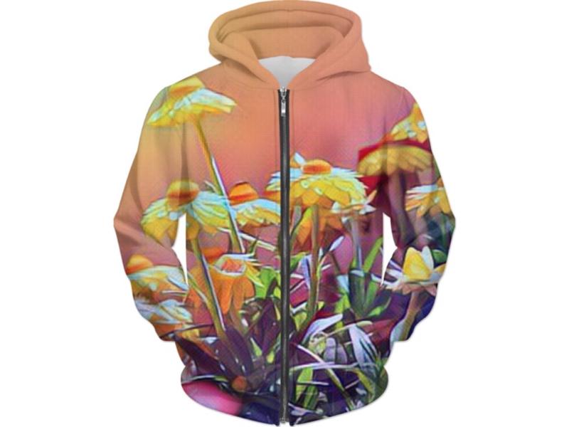 Wild Flower Hoodie floral flower hoodie