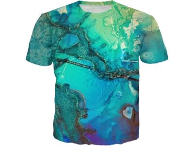 Abstract Watercolor T-shirt