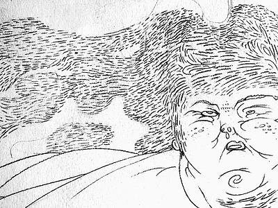 Siamese Sumo siamese sumo illustration sketch