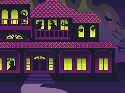 Monster Mansion by Lisa - Dribbble