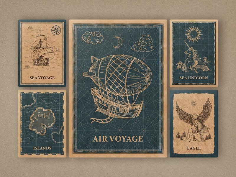 Magic Lands: Vintage Map Creator