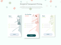 Tiered Pricing Page