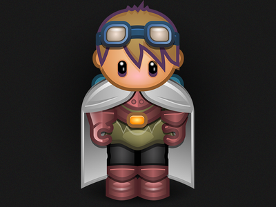 [In Progress] RPG Character rpg vector in progress