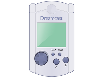 Dreamcast VMU Icon (Revision) vector revision icon vmu dreamcast