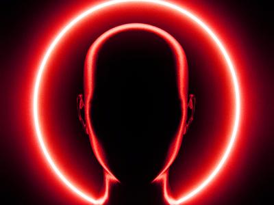 VOID silhouette silhoutte 3drendering 3drender blendercycles blender3dart blender 3d blender3d blender 3d artist 3d art 3d minimal abstract art red art red darkness dark void