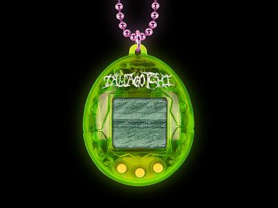 Tamagotchi graphicdesign graphic design glow green photoshop bandai digital pet digitalpet 90s retrogaming retro oldschool old game handheld gaming tamagotchi