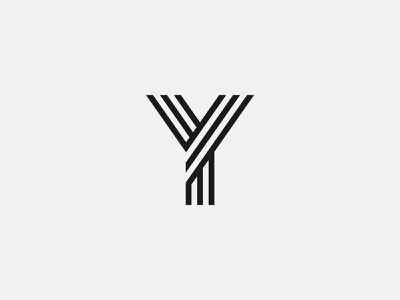 Letter Y minimalistic monogramlogo monogram letter alphabets alphabet minimalism typography simple 36 days of type 36daysoftype design type elegant minimal branding graphic design logo challenge logo design