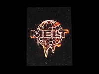 MELT - Climate Change Poster Design