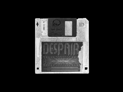 DESPAIR - Floppy Disk Artwork
