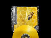 BEE - Vinyl Cover Artwork & Vinyl Record Design