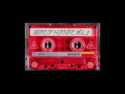 Cassette Tape Mockup