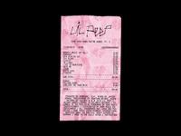 Lil Peep - COWYS PT. 2 Receipt