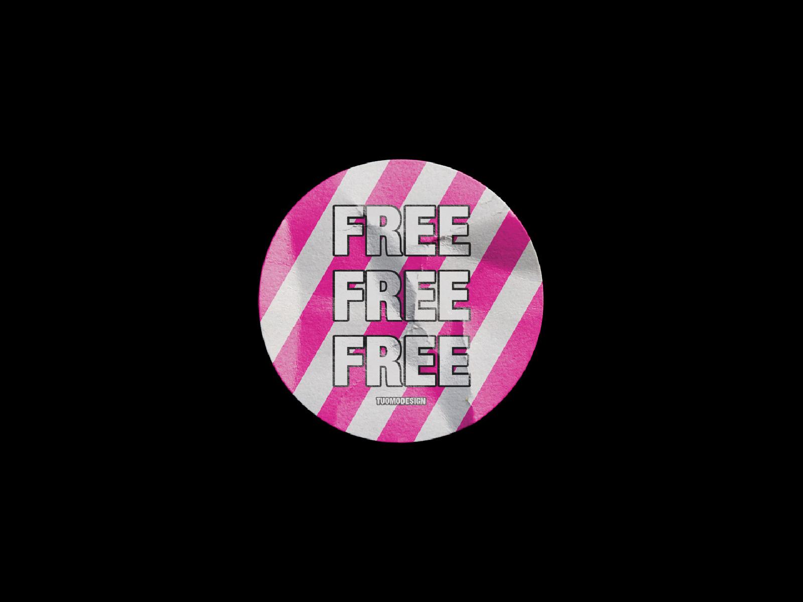 FREE] Sticker Mockup by Tuomo Korhonen on Dribbble