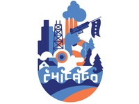 Chicago t-shirt - Cotton Bureau