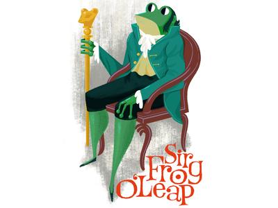 Sir Frog O'Leap