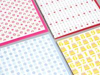 Pattern Notecards