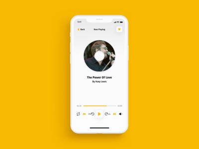 Music Player music app ui ux design