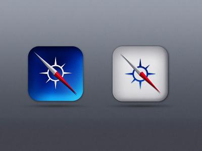 Safari icons idea safari icons idea icon design ui ux psd free style ios7