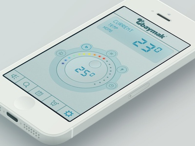 Gascombi remote control app  gascombi remote control app application ui ux iphone ipad apple