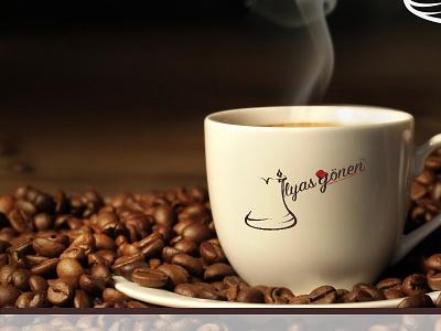 İlyas Gönen Turkish Coffee Logo design coffee logo design ui ux