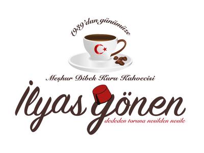 ilyas gönen coffee logo