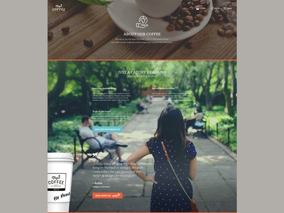 magic*coffee — Content Page exploration wip ecommerce storytelling coffee shop spree alchemy cms webdesign ui