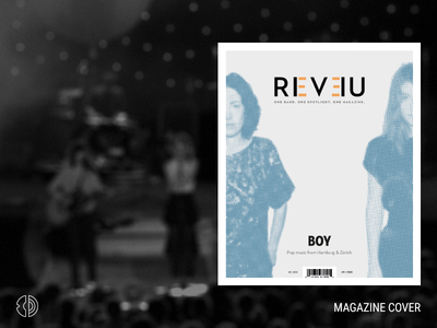REVEU Magazine — Cover magazine editorial design cover print fictional school