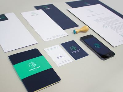 Personal Identity — Branding overview corporate identity branding stationery wd dw mark geometric circle brand minimalism