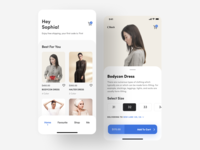 E-commerce App UI