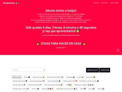 QDTNCASA - Website spain website web diseño web web design webdesign stay at home quedate en casa quedateencasa stayathome qdtncasa