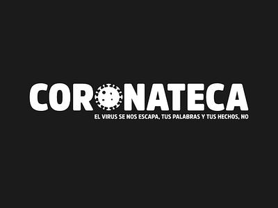Coronateca - Logo politicians crisis covid-19 covid19 design spain branding logo design logotype logo