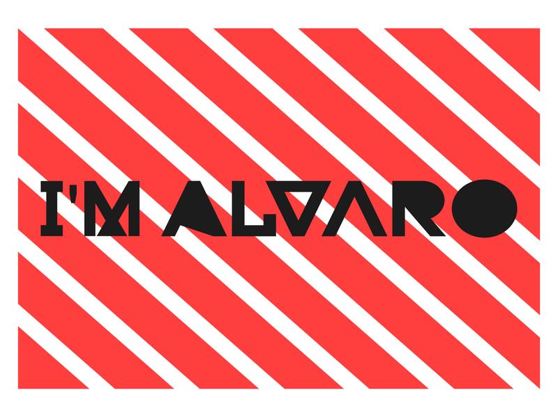 I'm Alvaro logo for 2020