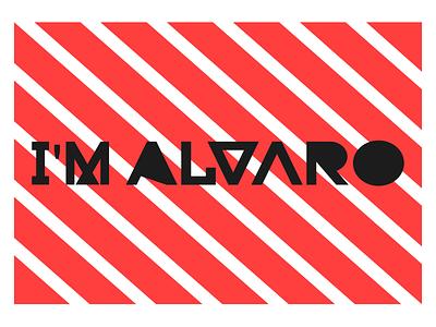 I'm Alvaro logo for 2020 design logotype logo design logo branding