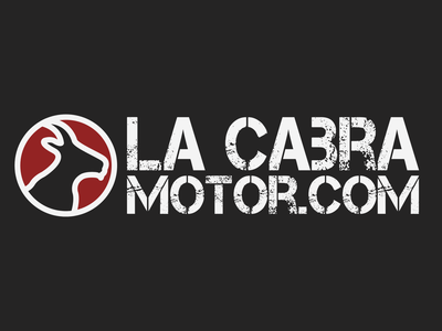 La Cabra Motor logotype logo design spain brand branding affinitydesigner affinity affinity designer website e-shop online shop shop eccomerce motorcycles motorcycle motorbike motor logo