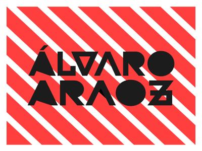 Álvaro Araoz logo spain logo design logotype alvaro branding logo