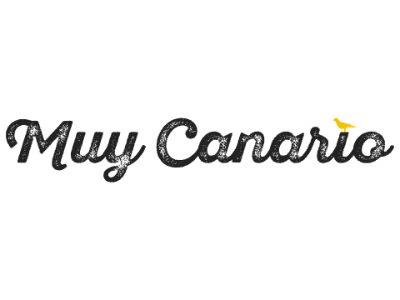 Muy Canario logo muy canario logotype logo design spain branding logo