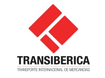 Transiberica logo spain design logotype logo design branding logo