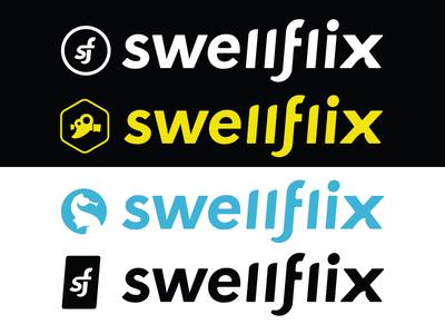 Swellflix Logo Development
