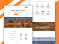 #1 Lancify - Freelance Platform Landing Page